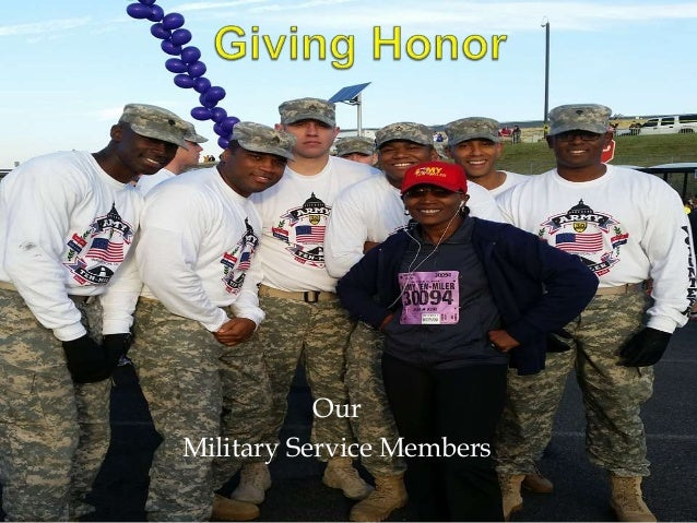 Our  Military Service Members