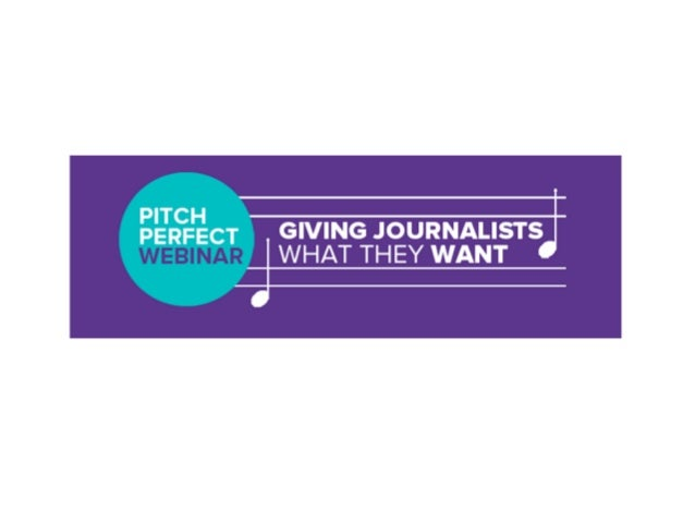 Welcome to our webinar! Outline: ! This webinar will fine-tune your approach to make sure it's pitch perfect! ! Our gues...