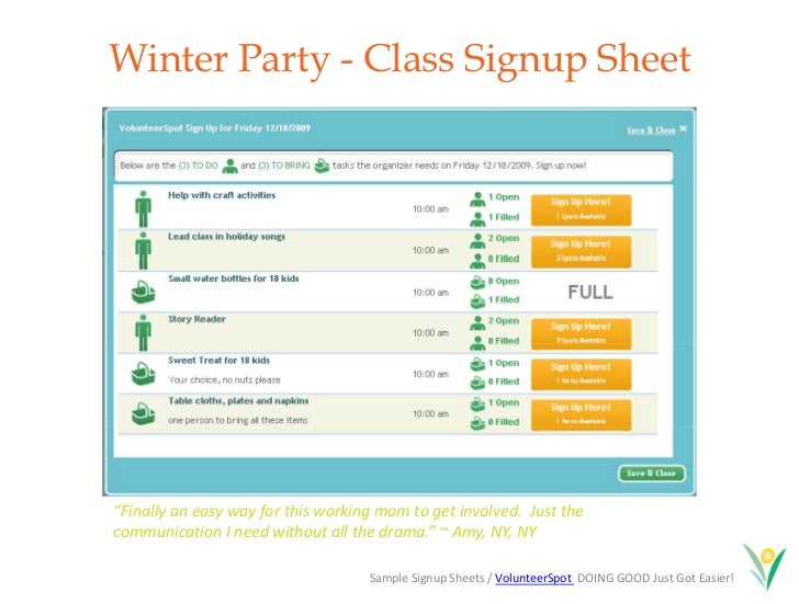 Holiday Planning Guide and Giving Tree Giveaway – Holiday Sign Up Sheet Templates