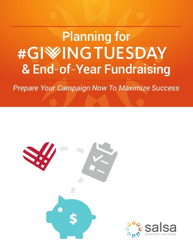 Planning for & End-of-Year Fundraising Prepare Your Campaign Now To Maximize Success