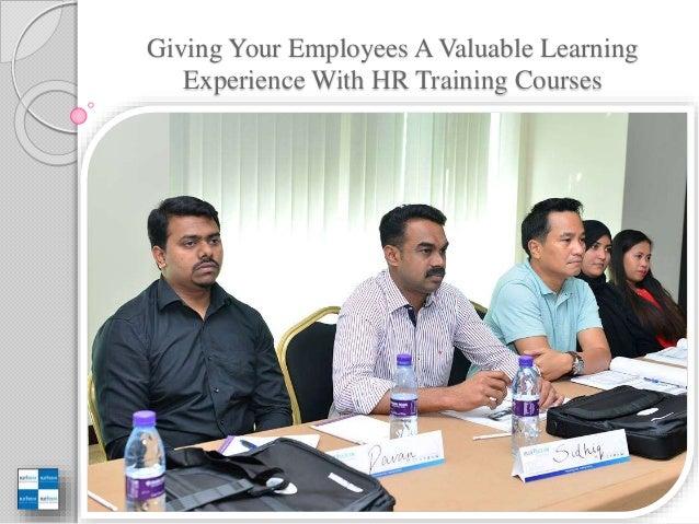 HR Training Activities