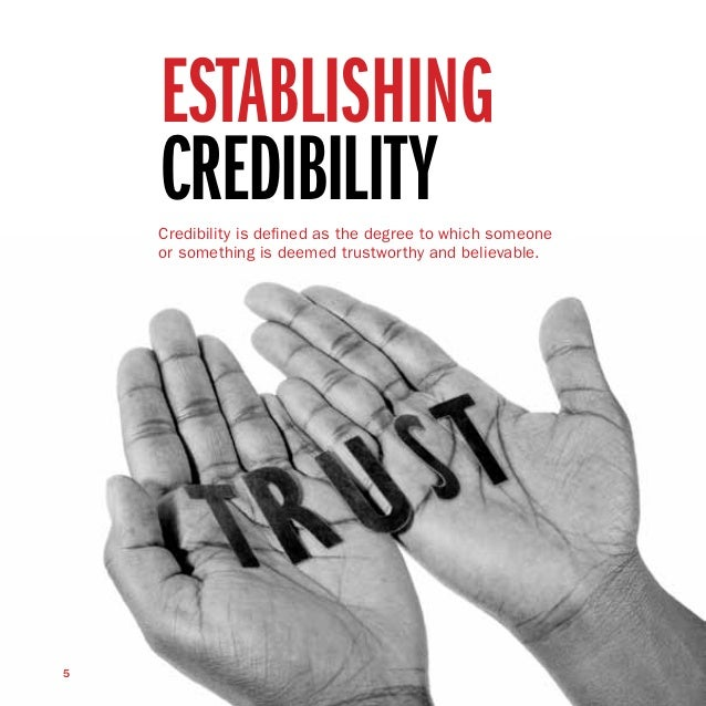 """what makes a credible paper There is no factual answer to this question because whether something is credible or not depends on the answer to the question """"credible to whom"""" there is also the question of how credible."""