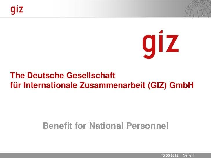 GIZ NP Policy