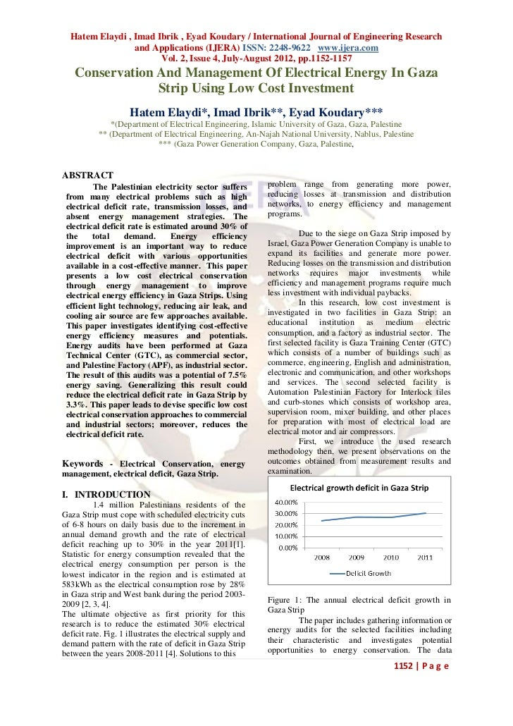 Hatem Elaydi , Imad Ibrik , Eyad Koudary / International Journal of Engineering Research                 and Applications ...