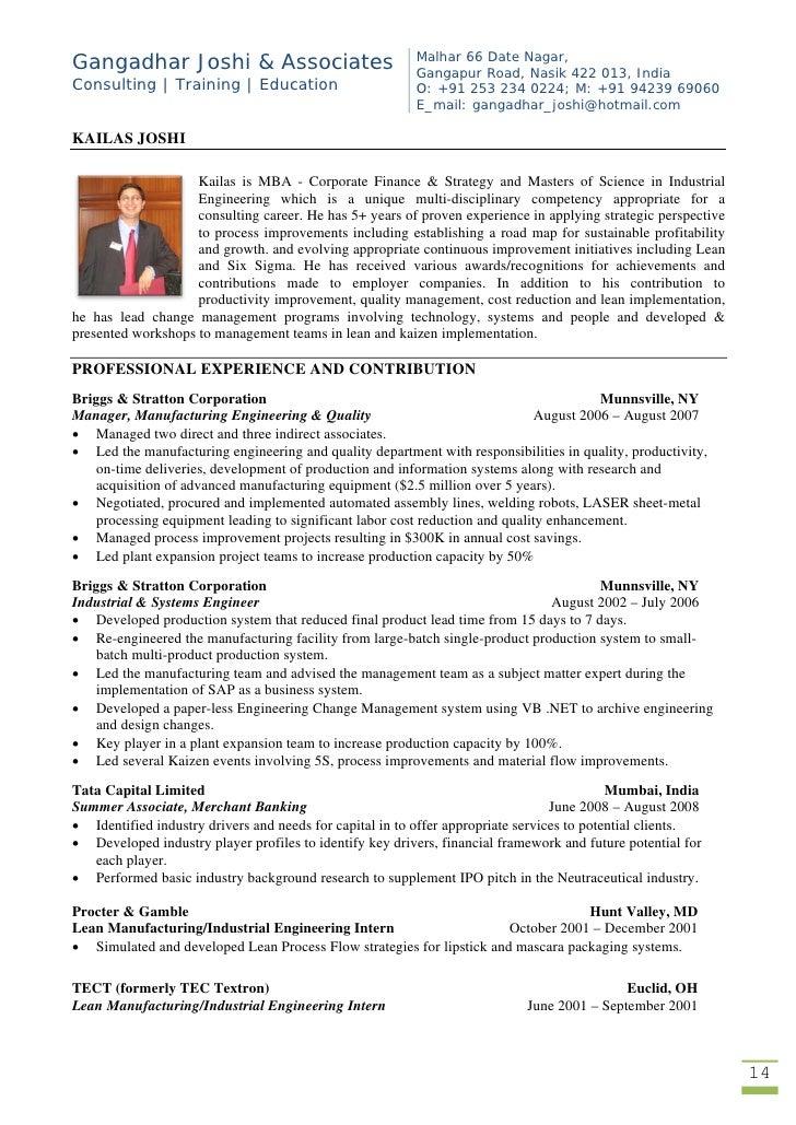 Gj associates brochure