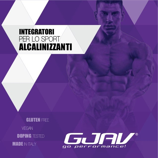 INTEGRATORI  PER LO SPORT  ALCALINIZZA NTI  GLUTEN FREE  VEGAN  DOPING TESTED  MADE IN ITALY
