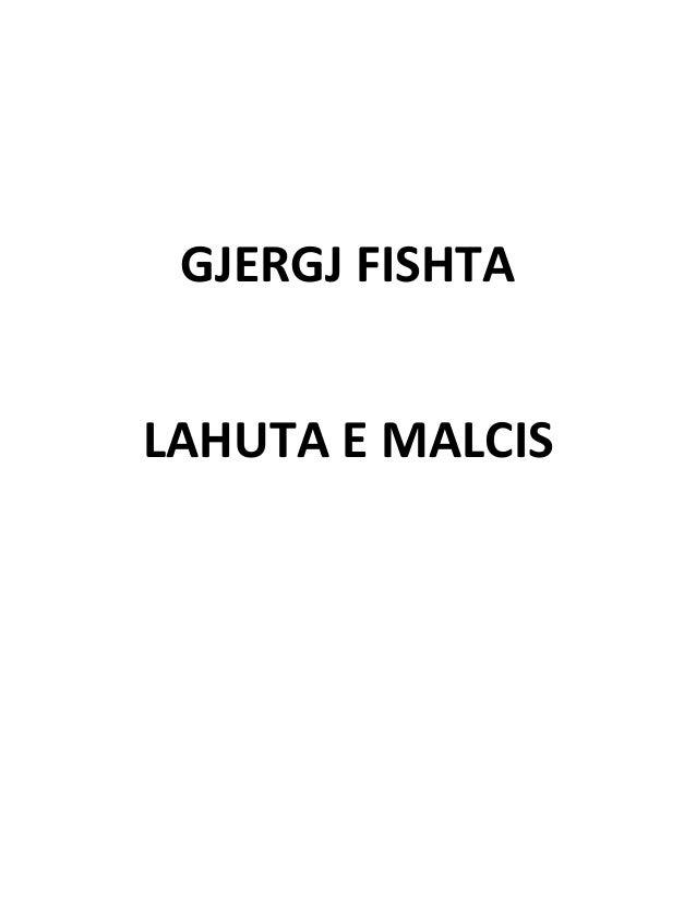 GJERGJ FISHTA LAHUTA E MALCIS