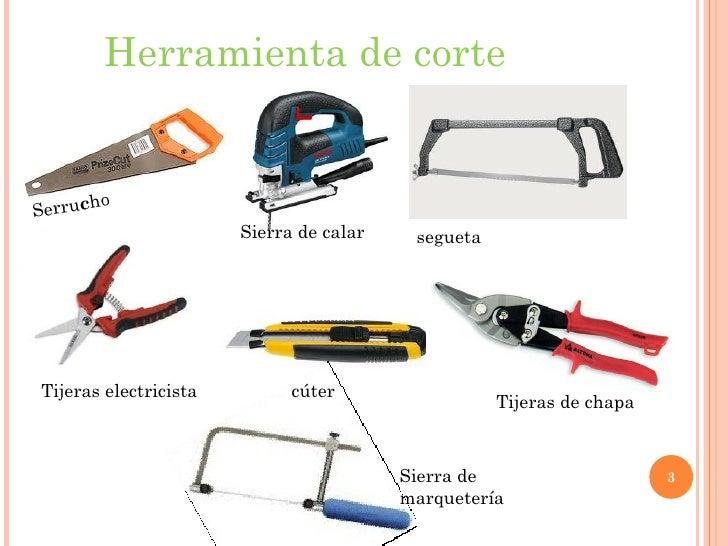 Clasificasion de las herramientas - Herramientas de carpinteria nombres ...