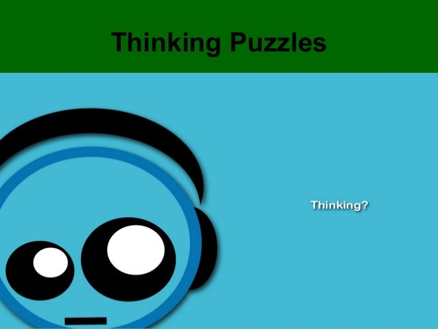 Thinking Puzzles               1