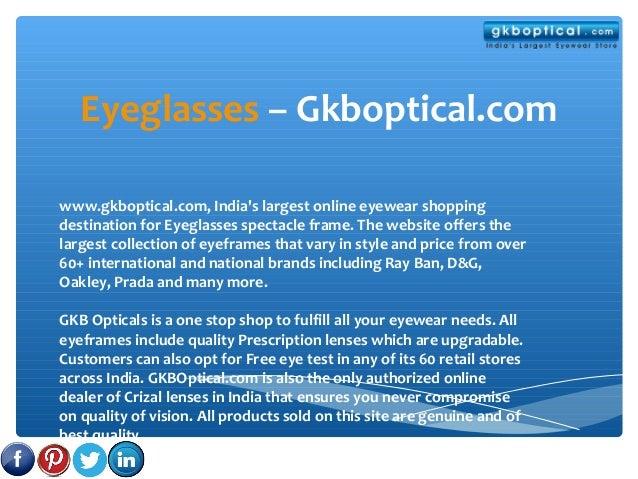 Eyeglasses – Gkboptical.com www.gkboptical.com, India's largest online eyewear shopping destination for Eyeglasses spectac...