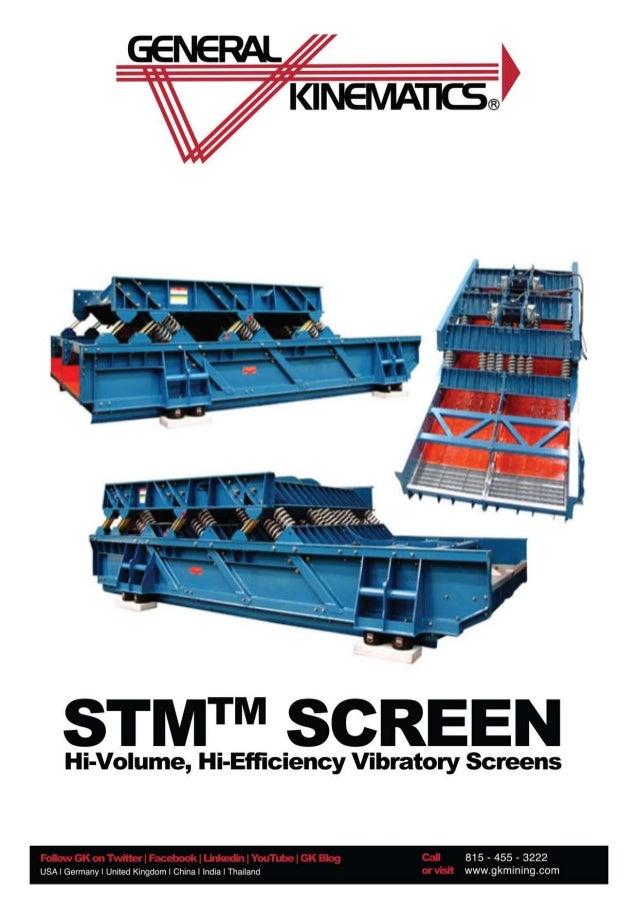 General Kinematics Double Mass Vibrating Screen English