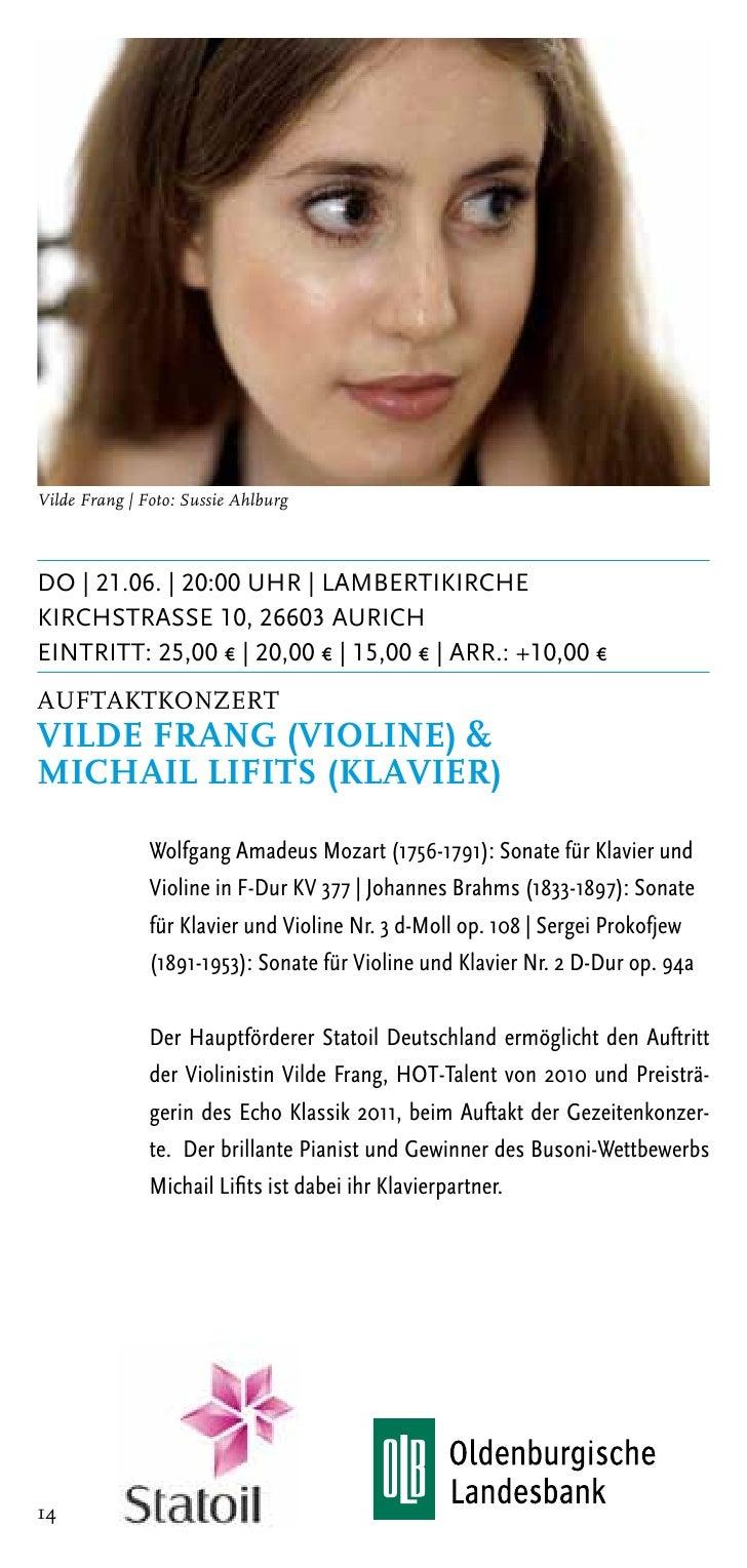 Stephan Imorde/Ulf SchneiderSA | 23.06. | 20:00 Uhr | Kirche DunumHauptstrasse 34, 26427 DunumEintritt: 20,00 € | 15,00 € ...