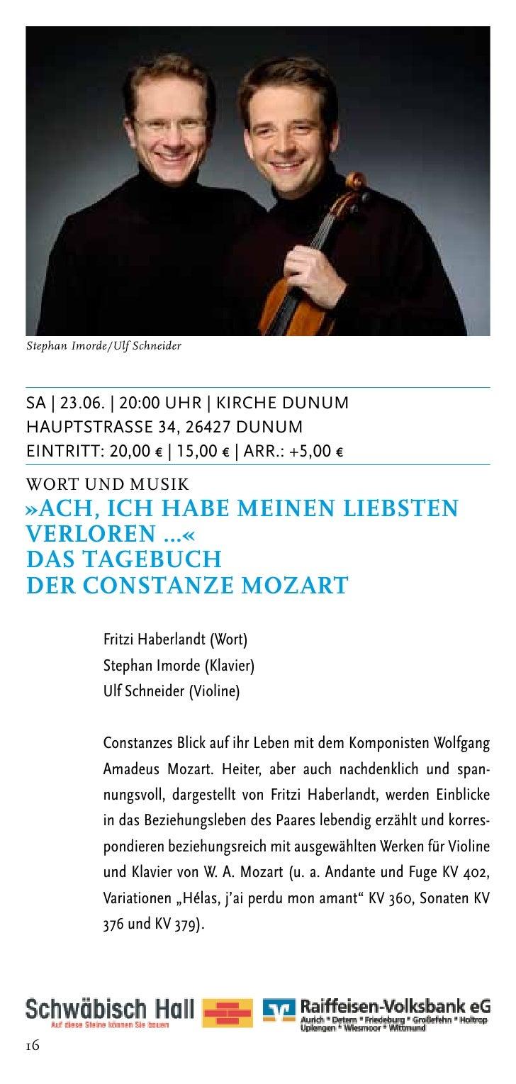 Matthias Kirschnereit / Fotos: Steven HaberlandDI | 26.06. | 20:00 Uhr | Kirche BargeburHeerstrasse, 26506 Norden-Bargebur...