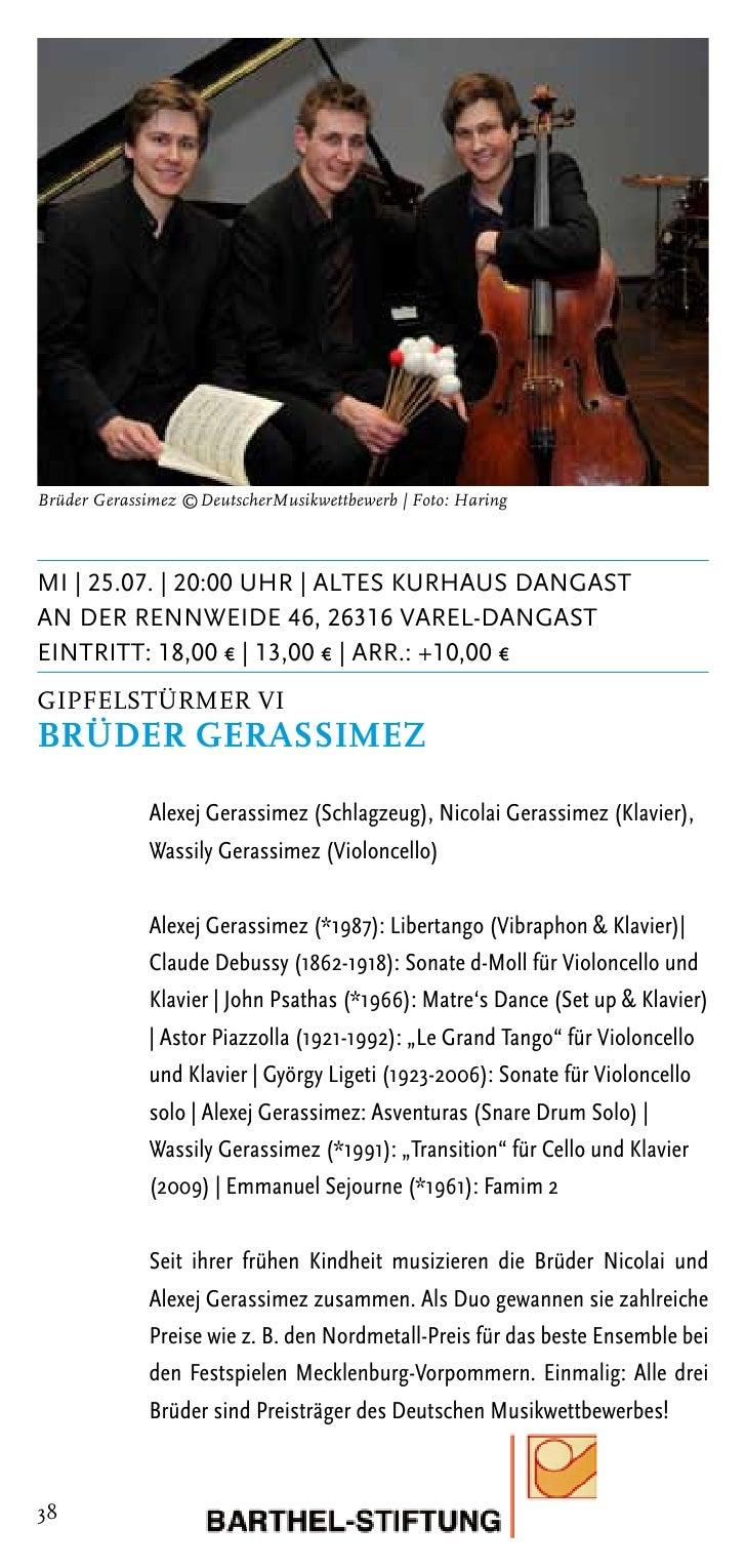 The English Concert | Foto: Richard HaughtonDi | 07.08. | 20:00 Uhr | kirche SengwardenHauptstrasse, 26388 WilhelmshavenEi...