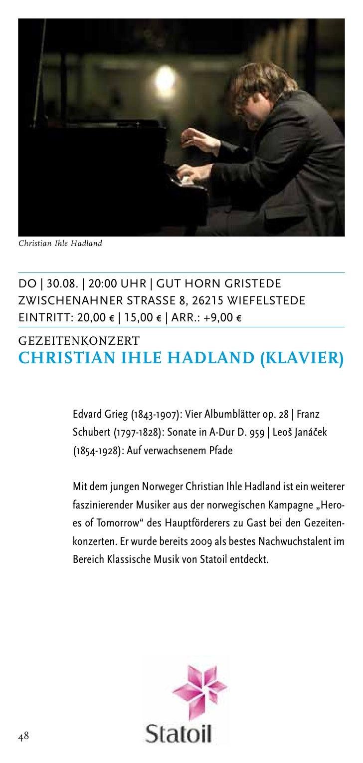 Andrej Bielow | Foto: © Marco BorggreveDi | 04.09. | 20:00 Uhr | Kirche WittmundDrostenstrasse, 26409 WittmundEintritt: 20...