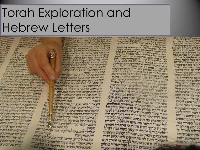 Torah Exploration andHebrew Letters