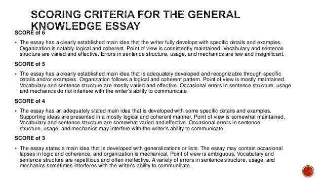 gkt essay prompts