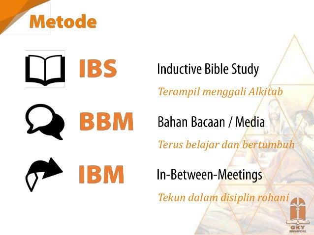 FONDASI IBS GENRE EXERCISE 1. Keselamatan Ef 2:8-9 Epistles Contoh memimpin IBS 2. Memuliakan Tuhan Kol 1:15-16 Epistles C...