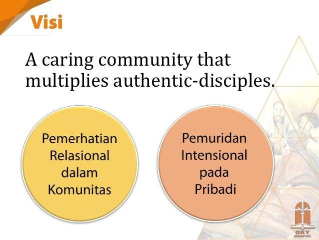 Komitmen: Melayani (reach the world)  Ministry, Marketplace, Mission Komitmen: Bertumbuh (equip disciple-maker)  School ...