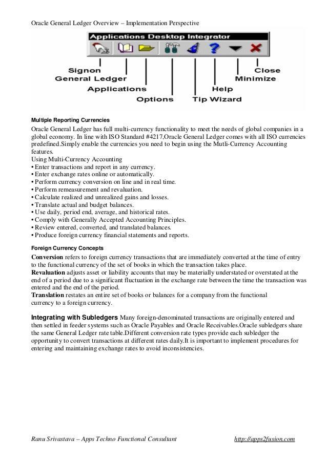 oracle general ledger rh slideshare net General Ledger Accounting Cycle General Ledger Accounting Cycle