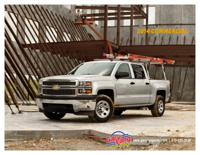 Gary Lang Chevy >> 2014 Chevrolet Commercial Vehicle