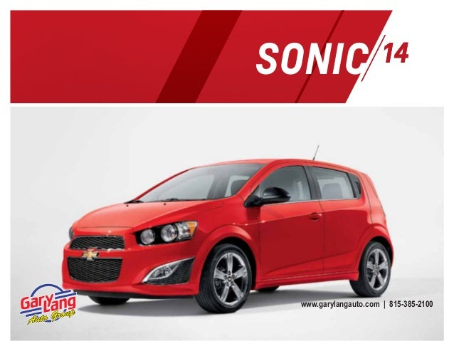2014 chevrolet sonic digital brochure. Black Bedroom Furniture Sets. Home Design Ideas