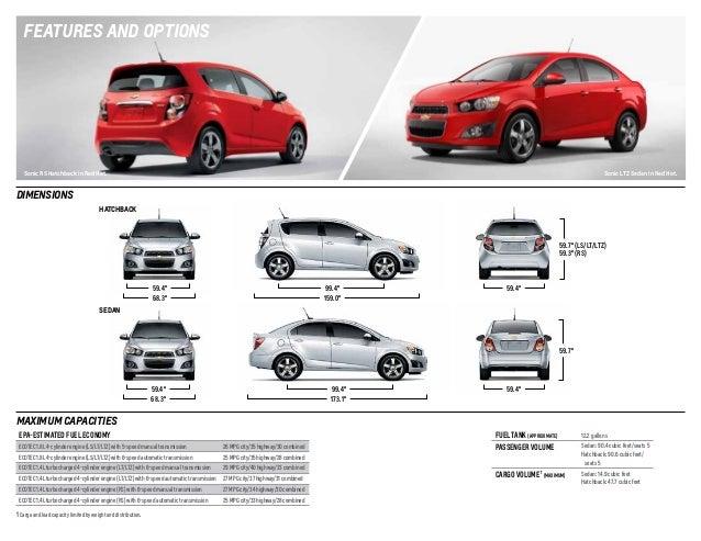 Chevy Sonic Specs >> 2014 Chevrolet Sonic Digital Brochure