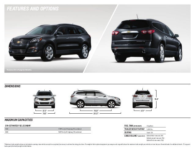 2014 Chevrolet Traverse Brochure