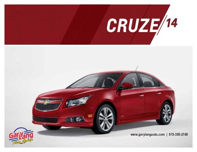 2014 Chevy Cruze Digital Brochure