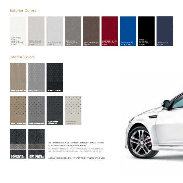 2014 Kia Optima Digital Brochure