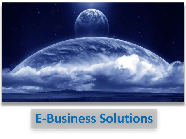 E-Business Solutions
