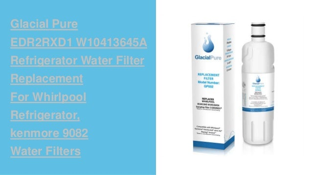 Glacial pure water filters presentation