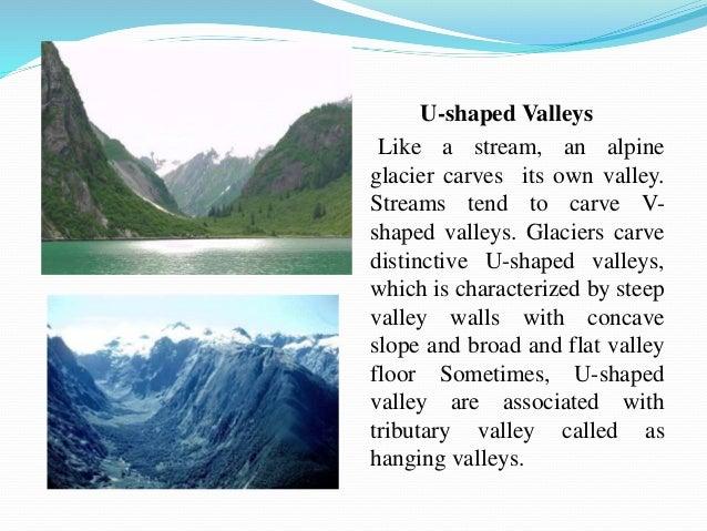 Glacier formation and landforms