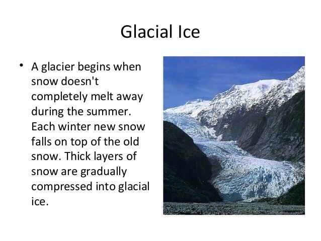 Glaciers Slide 2