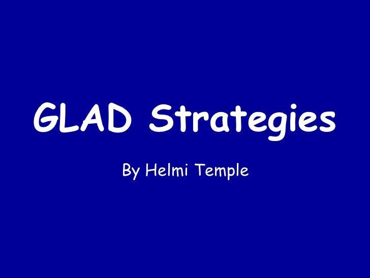 GLAD Strategies By Helmi Temple