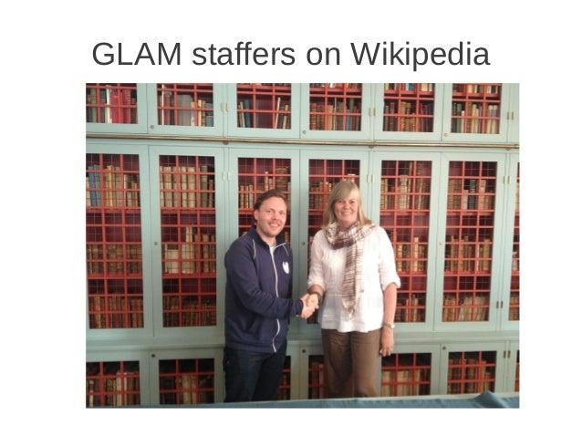 GLAM staffers on Wikipedia