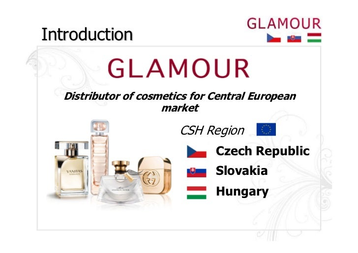 Introduction  Distributor of cosmetics for Central European                     market                        CSH Region  ...