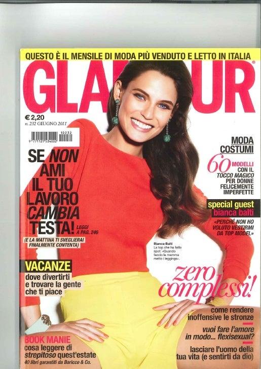 Intervista Glamour Giugno 2011 sulle modalità di ricerca dei Trend in Rete