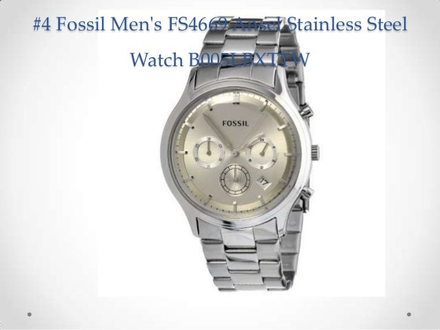 Glamour Best Fossil Watches for Men Top Mens Fashion Watches