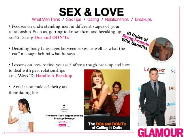 Glamour magazine dating tips — pic 8