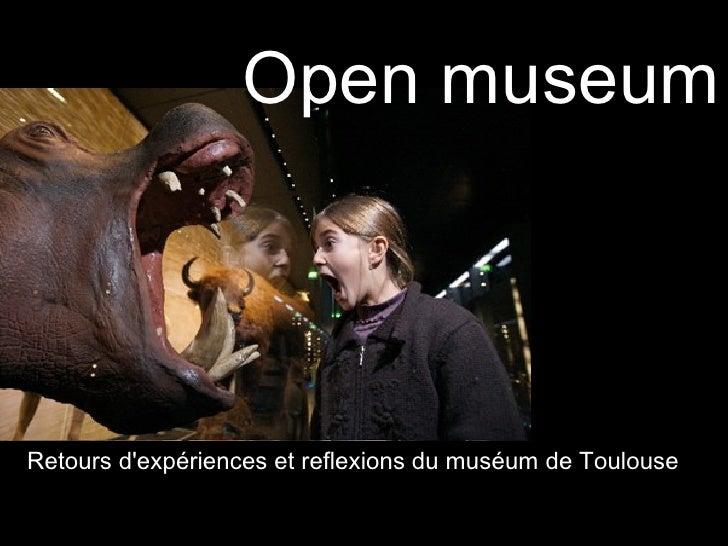 Open museum                              de la conservation à la conversation                                  Open-museum...