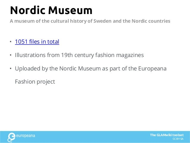 Nordic Museum • 1051 files in total • Illustrations from 19th century fashion magazines • Uploaded by the Nordic Museum as...