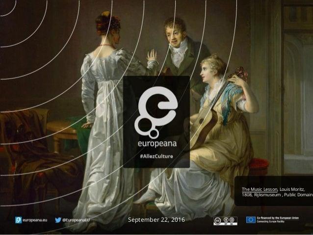 September 22, 2016 The Music Lesson, Louis Moritz, 1808, Rijksmuseum , Public Domain