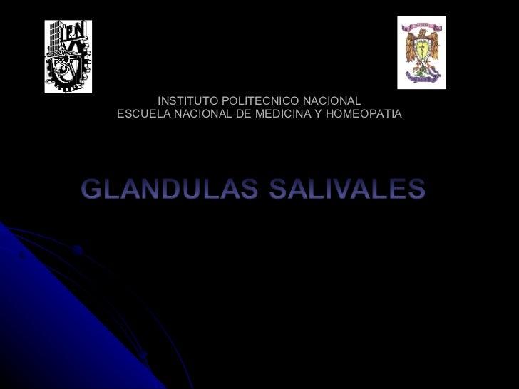 INSTITUTO POLITECNICO NACIONAL ESCUELA NACIONAL DE MEDICINA Y HOMEOPATIA