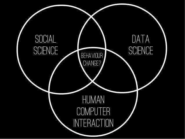 SOCIAL SCIENCE DATA SCIENCE HUMAN COMPUTER INTERACTION BEHAVIOUR CHANGE?