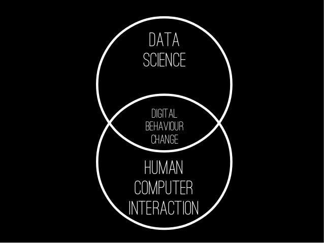 DATA SCIENCE HUMAN COMPUTER INTERACTION DIGITAL BEHAVIOUR CHANGE