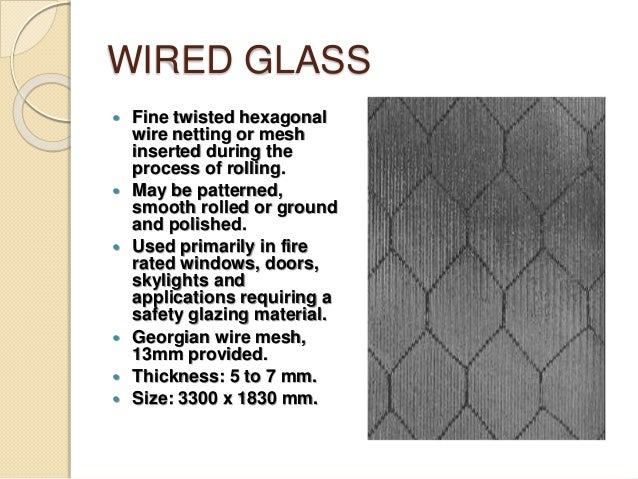 Nice Wire Mesh Glass Window Contemporary - Electrical Circuit ...