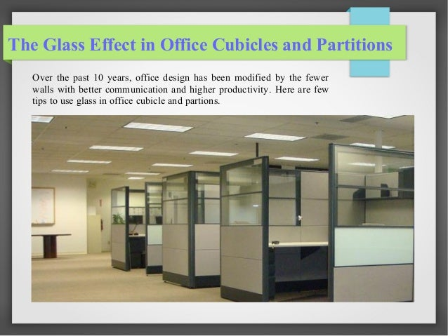 Glazed Office Cubicles : Benefits of glass in office cubicles and partitions