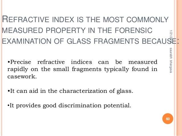 Glass Analysis