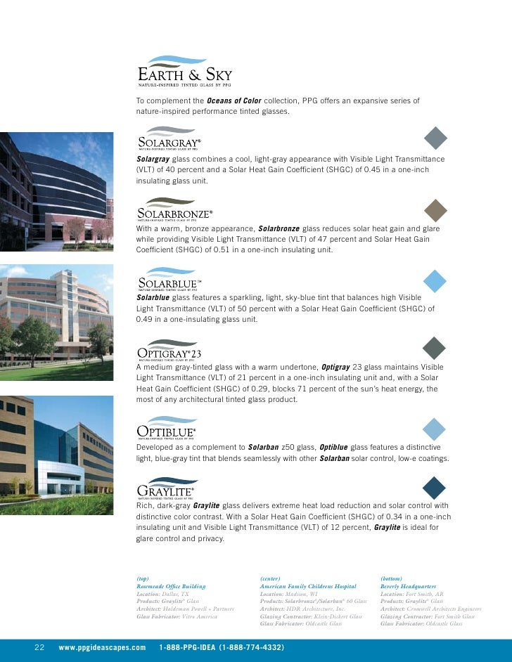 PPG Glass Catalog